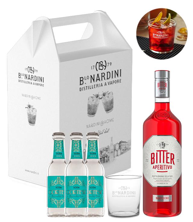 Nardini@Home: Nardini Spritz Cocktail Kit box