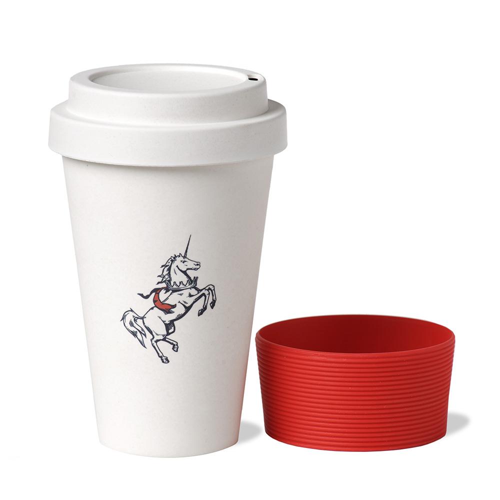 Travel mug unicorno