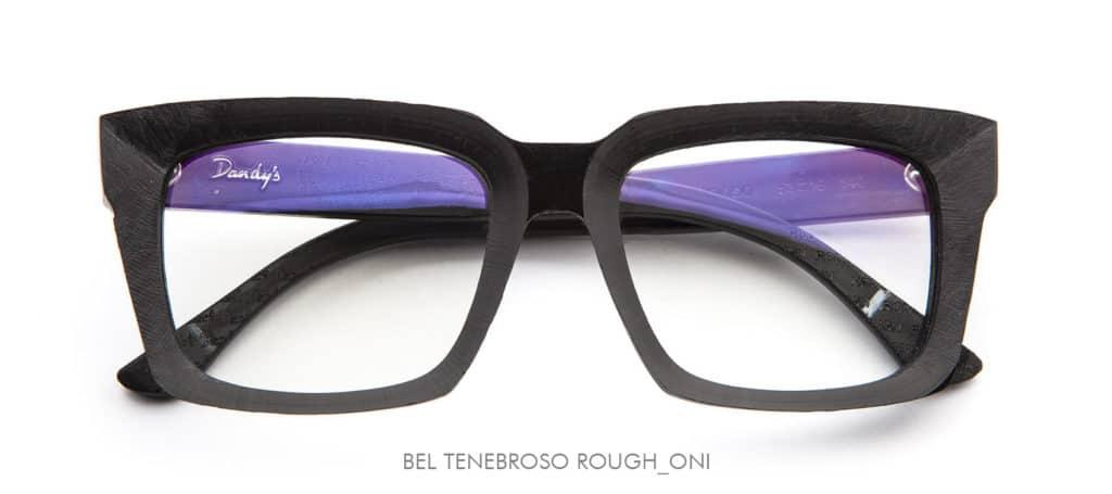 Dandy's eyewear Bel Tenebroso Onice, Rough version