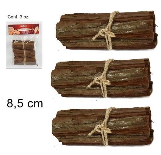 Set 3 fascine legno