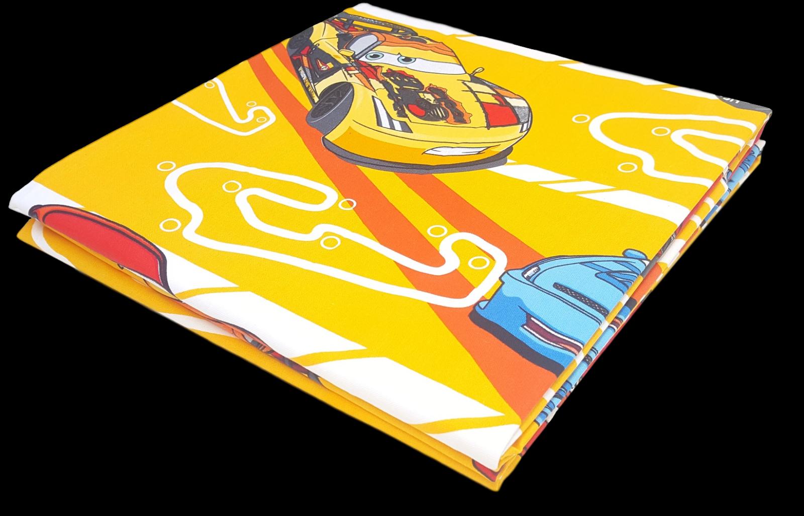 CALEFFI, Disney. Copriletto stampato Panama CARS SPORT Singolo, 1 piazza e mezza