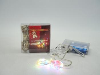 40 Led multicolor uso acqua filo modellabile a batteria