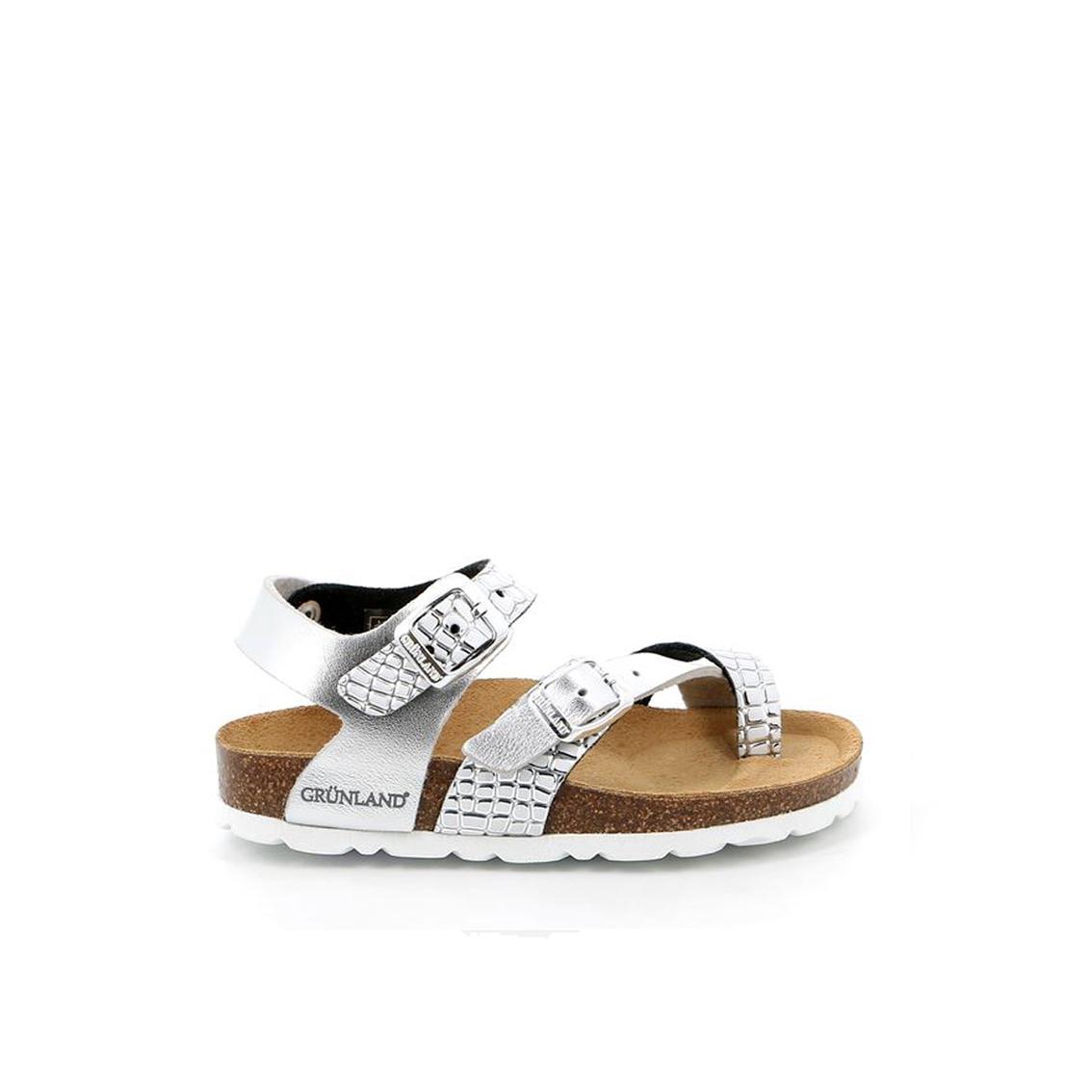 Sandalo argento Grunland