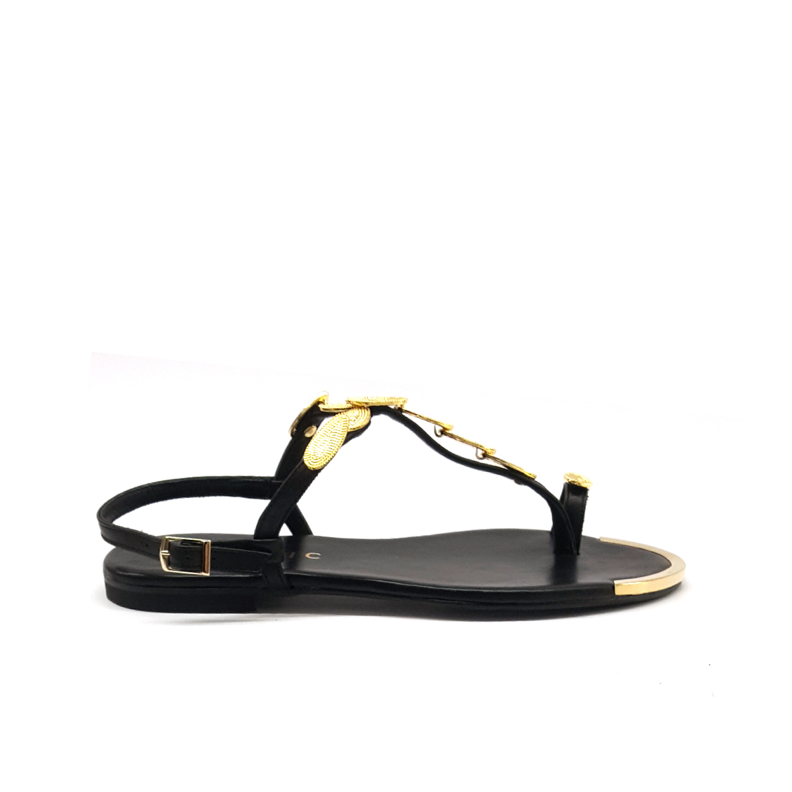 Sandalo infradito nero Mosaic