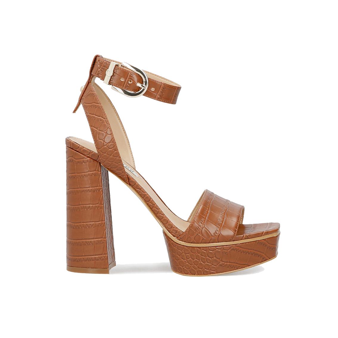 Sandalo cuoio Guess