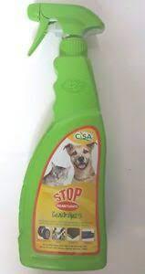 Stop Cani e Gatti Spray Repellente liquido per cani e gatti Cisa Flacone 750 ml