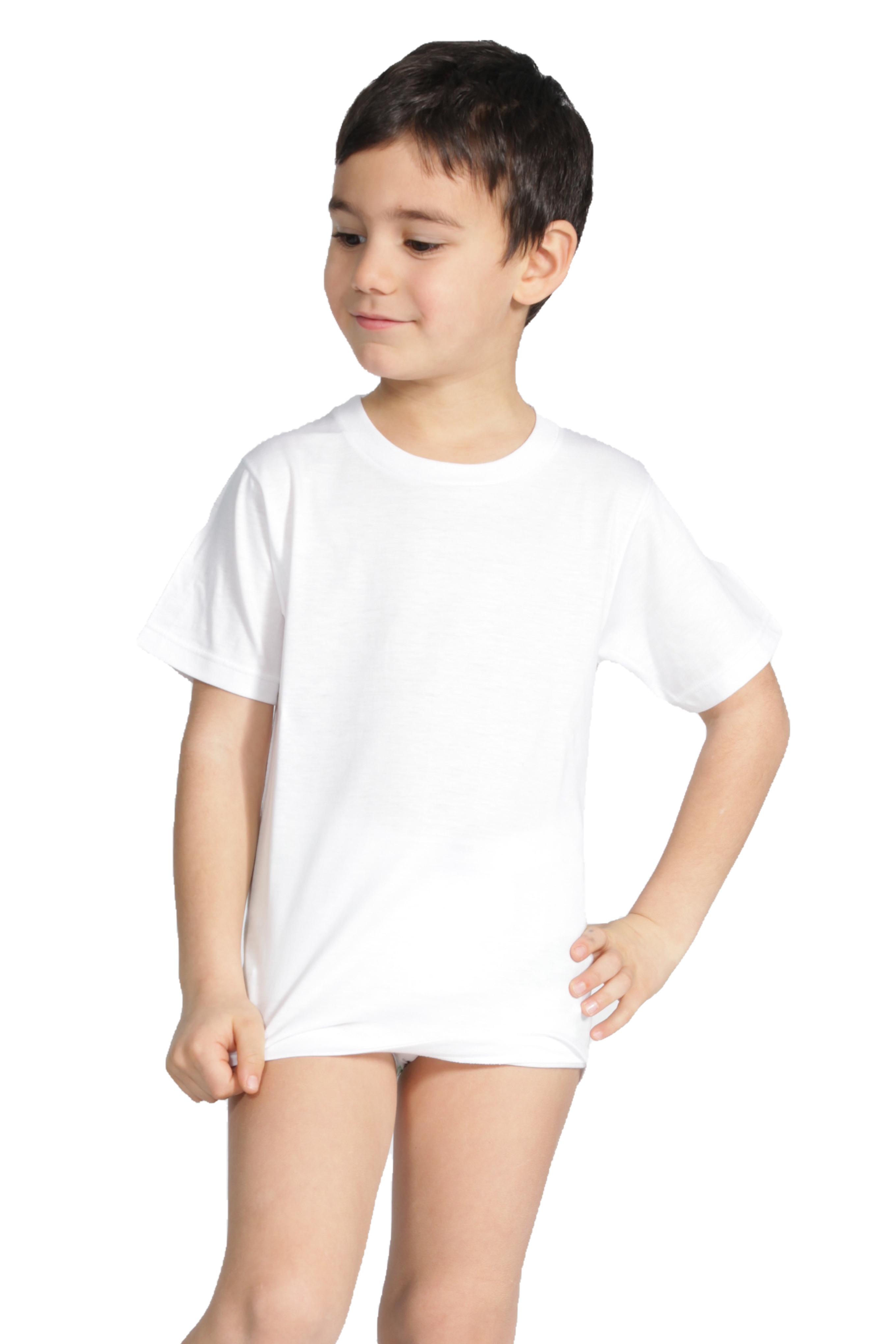 2 Maglie da bambino con manica corta in cotone Ma.Re.