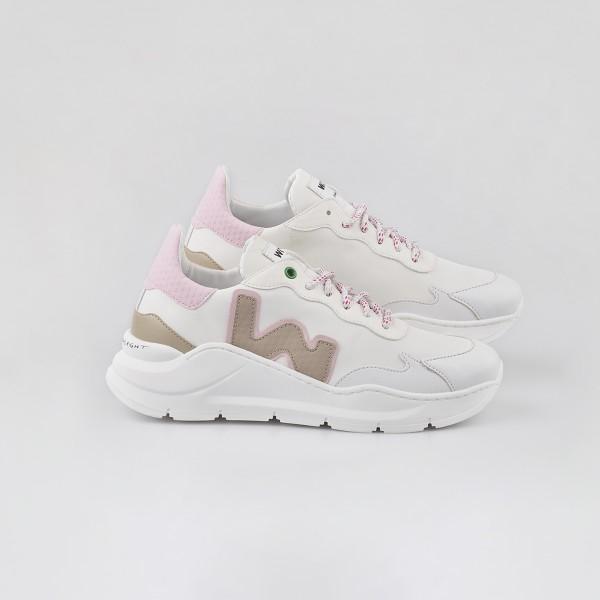 Sneaker Vegan wave white snoopy Womsh