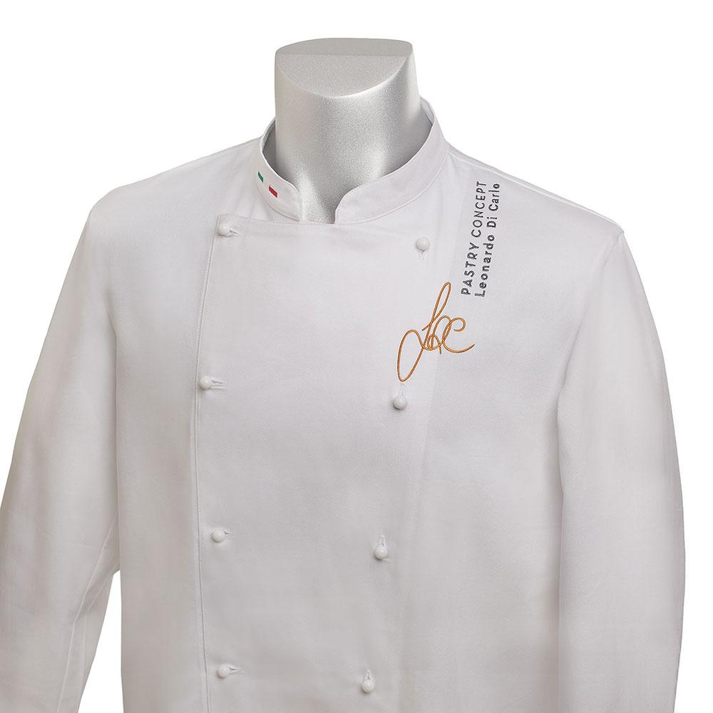 Giacca modello Artur con logo Pastry Concept/Leonardo Di Carlo
