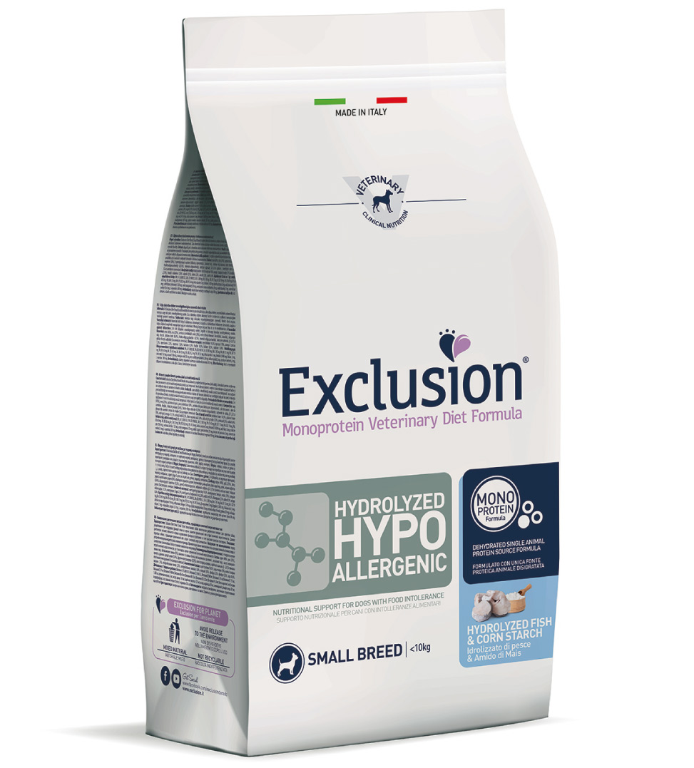 Exclusion - Veterinary Diet Canine - Hydrolyzed Hypoallergenic - Small - 2kg