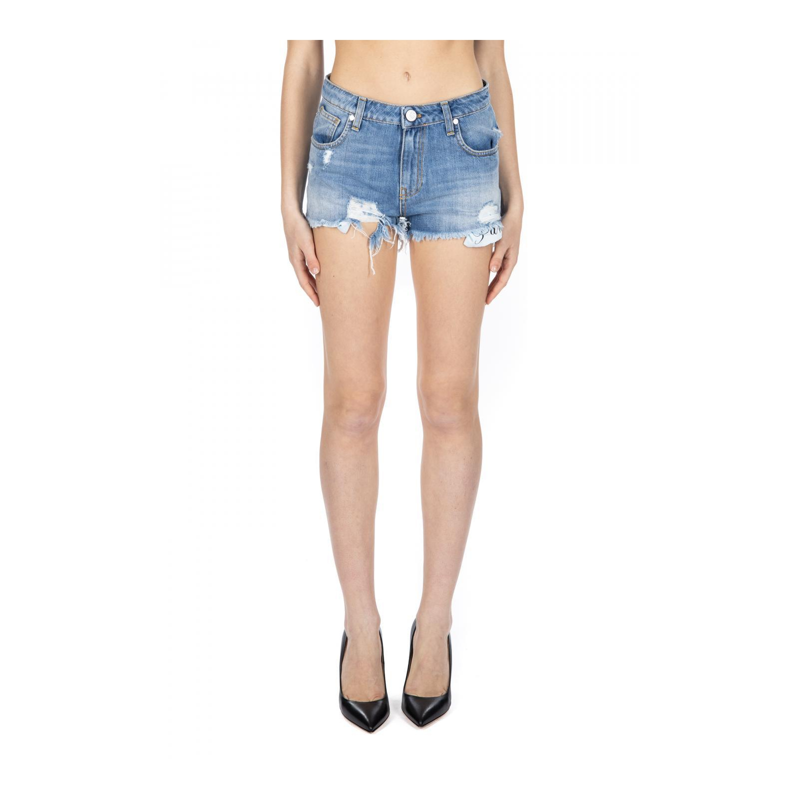 SHORT IN JEANS