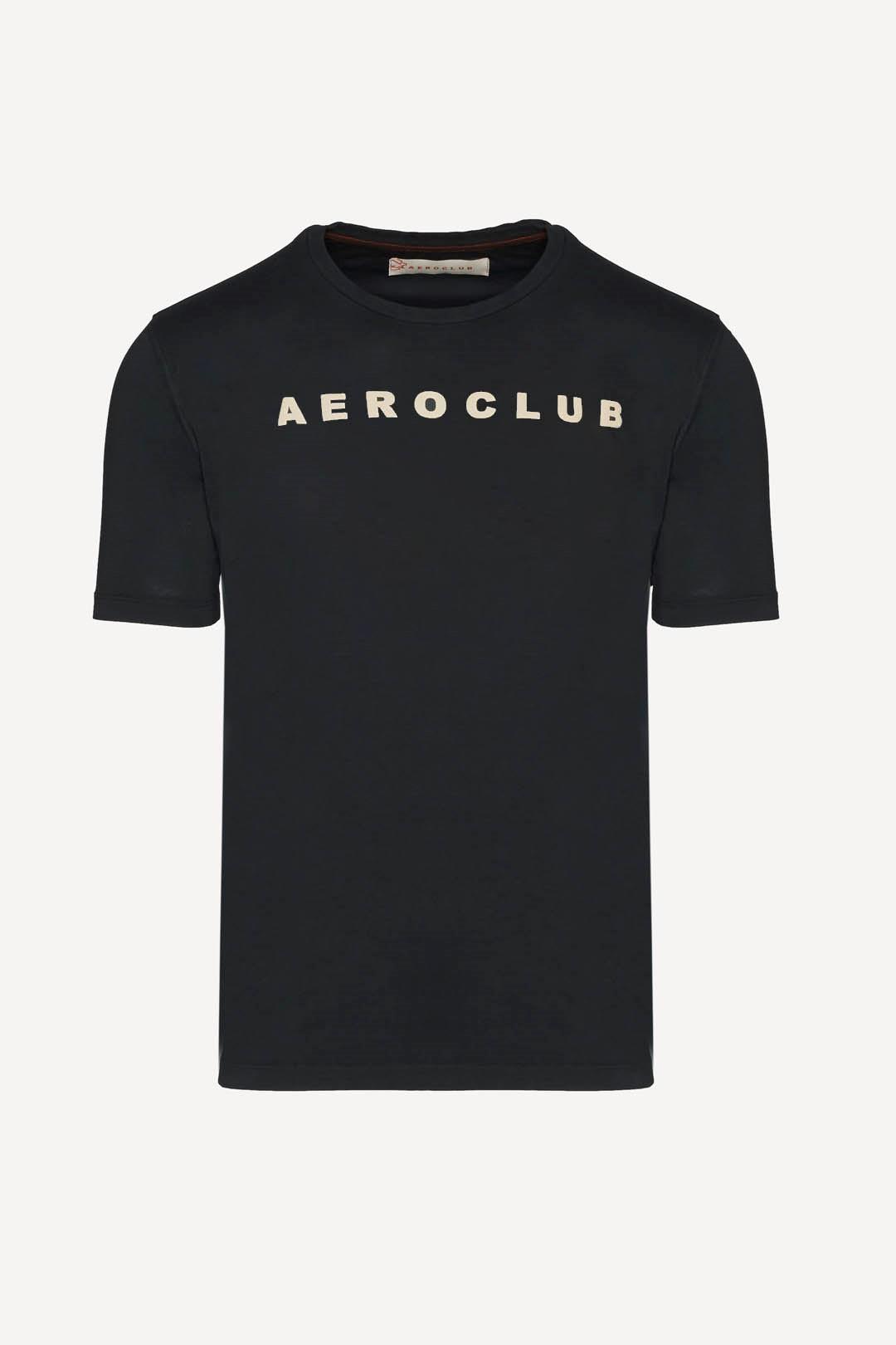 T-shirt Aeroclub con logo stampato       1