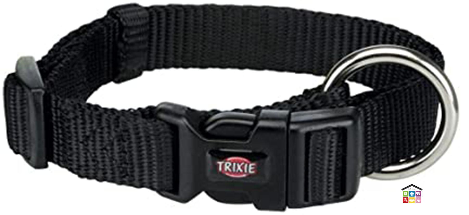 Trixie collare premium nero