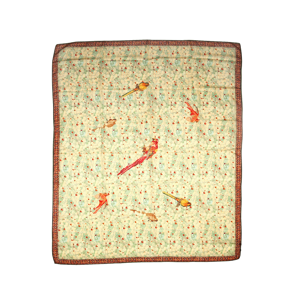 Cashmere foulard
