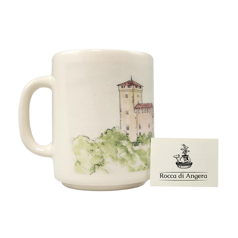 Tazza in ceramica vintage - Rocca D'Angera