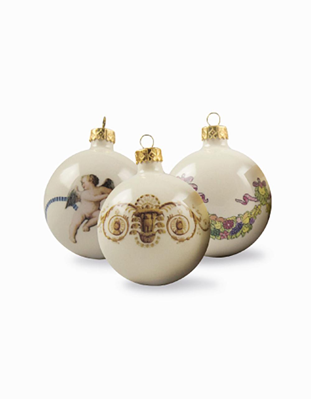 Tris palline di Natale