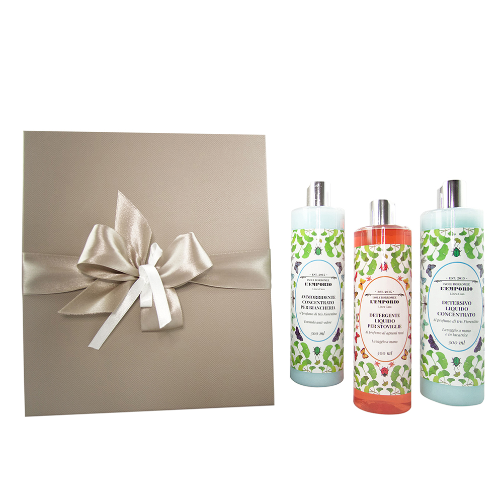 Set of perfumed products for the home