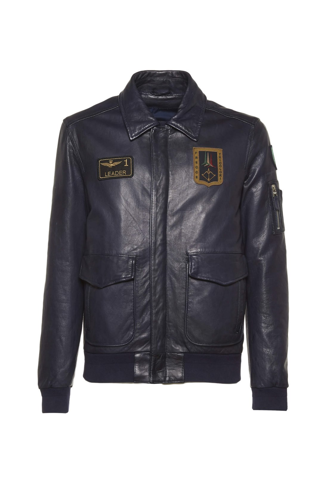 Leather Pilot jacket                     1
