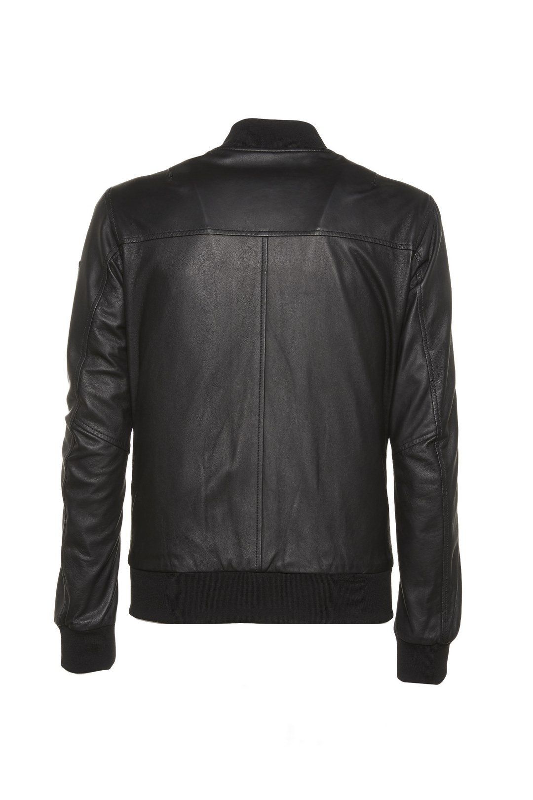 Leather jacket with metal Eagle          2