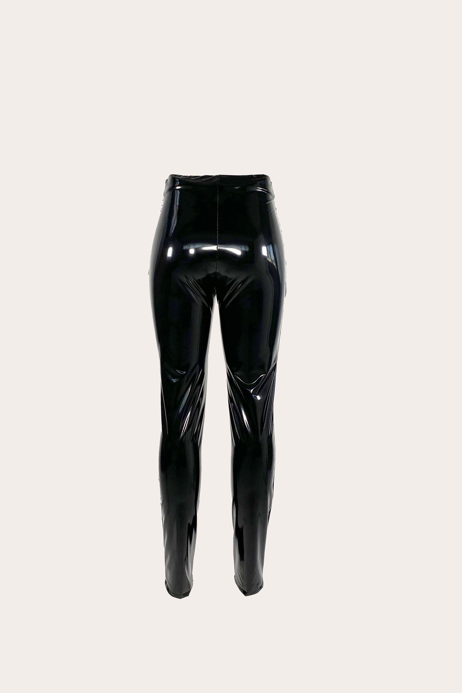 Leggings Vinil nero Aniye By