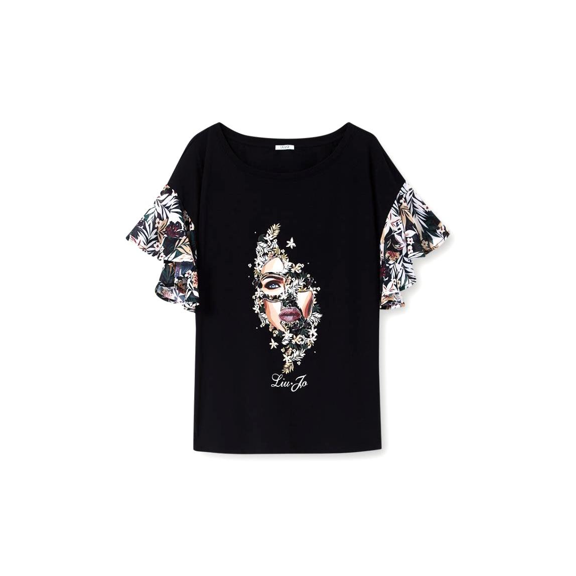 T-Shirt con volants - LIU JO