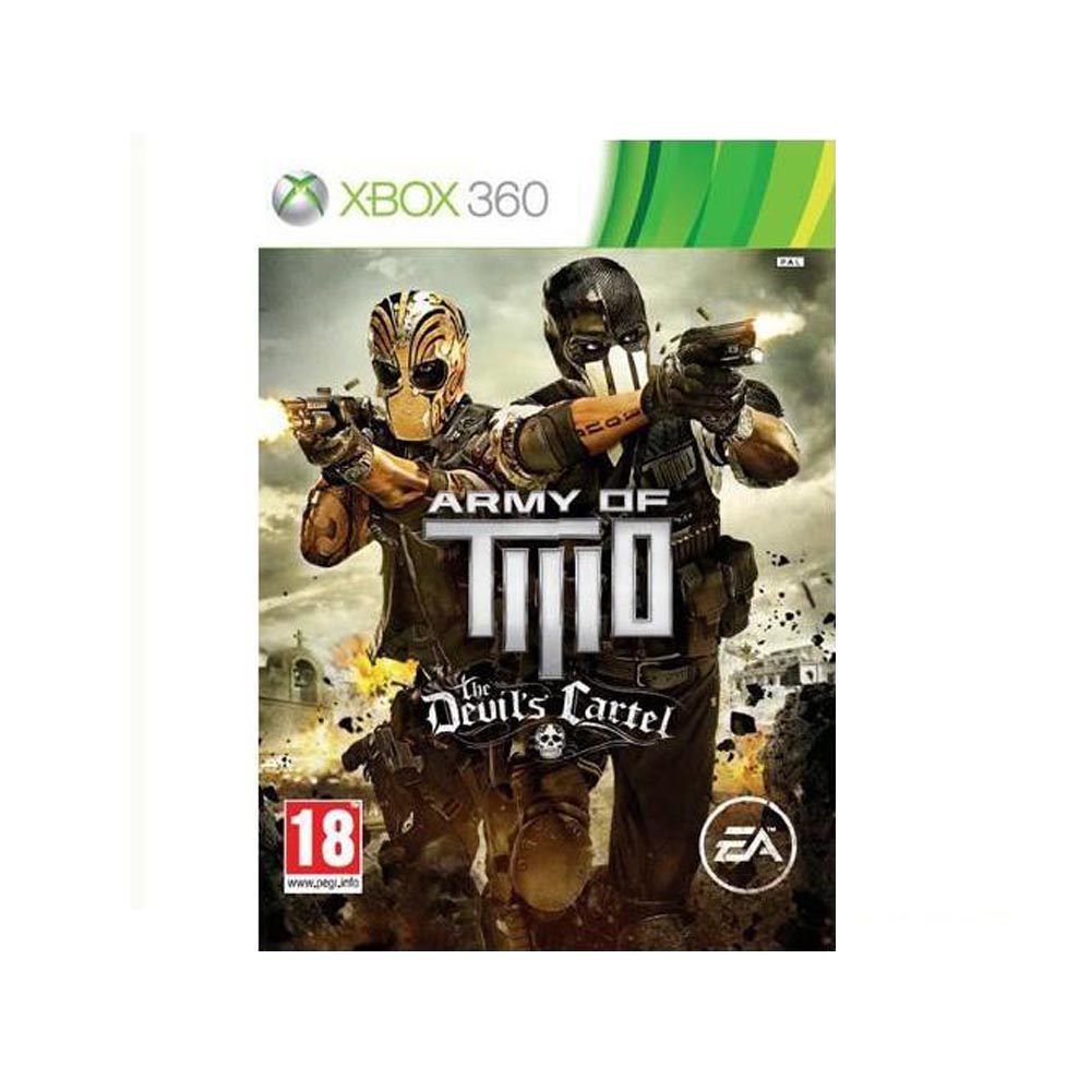 Army of Two: The Devil's Cartel - usato - XBOX 360