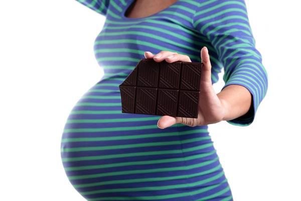 Il cioccolato in gravidanza? Ottimo per il bambino