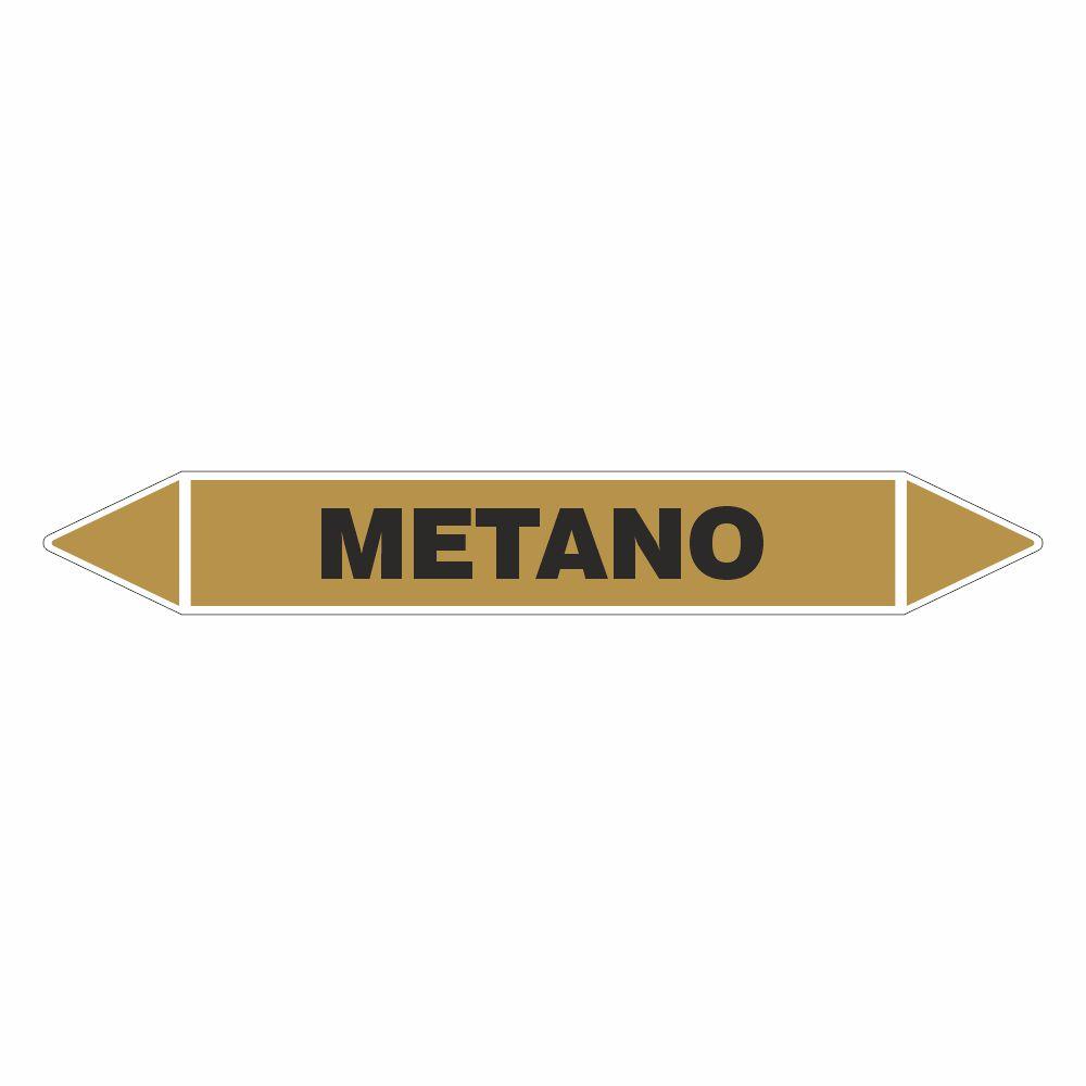 Adesivo per tubazioni Metano