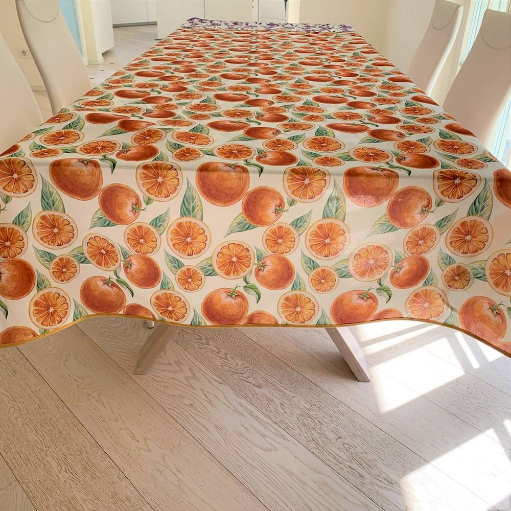 Tovaglia antimacchia Arancia 140 x 180