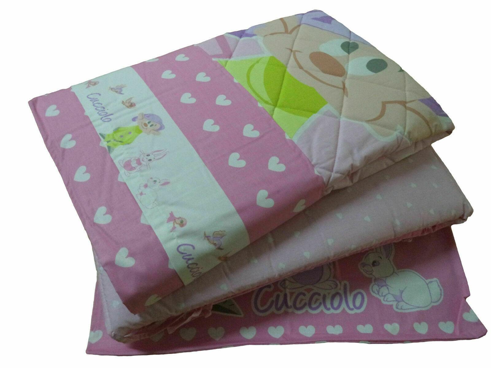 Coordinato Baby Culla Lettino DISNEY CUCCIOLO Trapuntino e paracolpi + Lenzuola