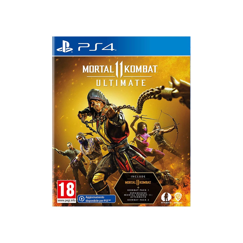 Mortal Kombat 11 ULTIMATE - NUOVO - PS4