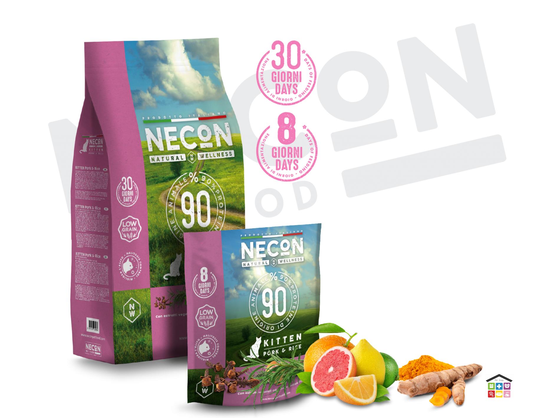 Necon pork and rice kitten 0.400/1.5 kg