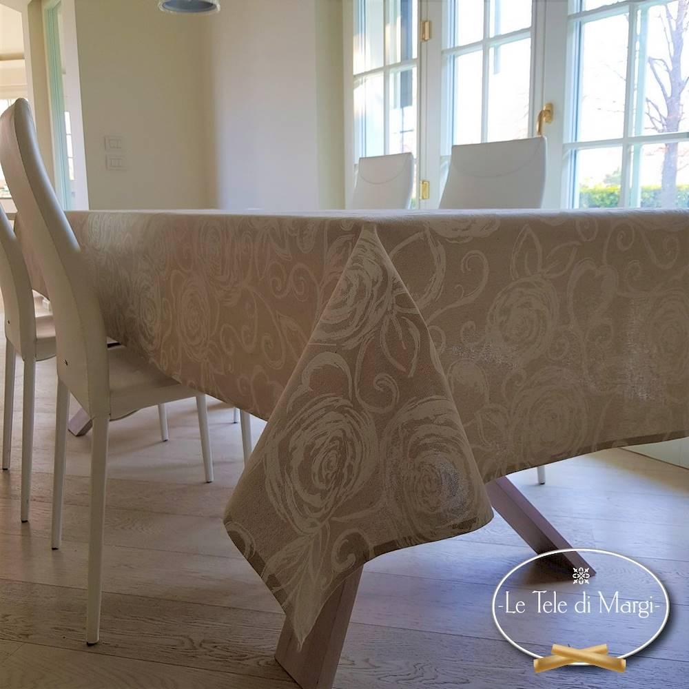 Tovaglia Sanderson resinata 140 x 180