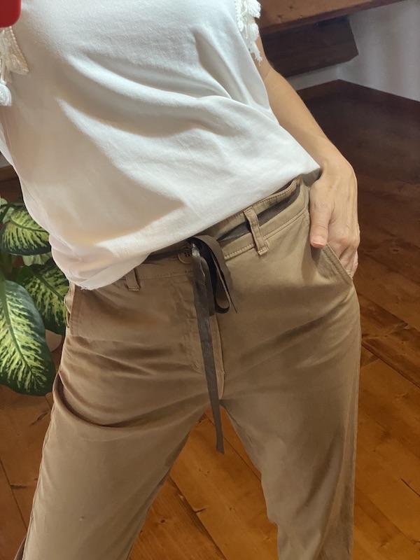 Pantalone Chino Tensione In