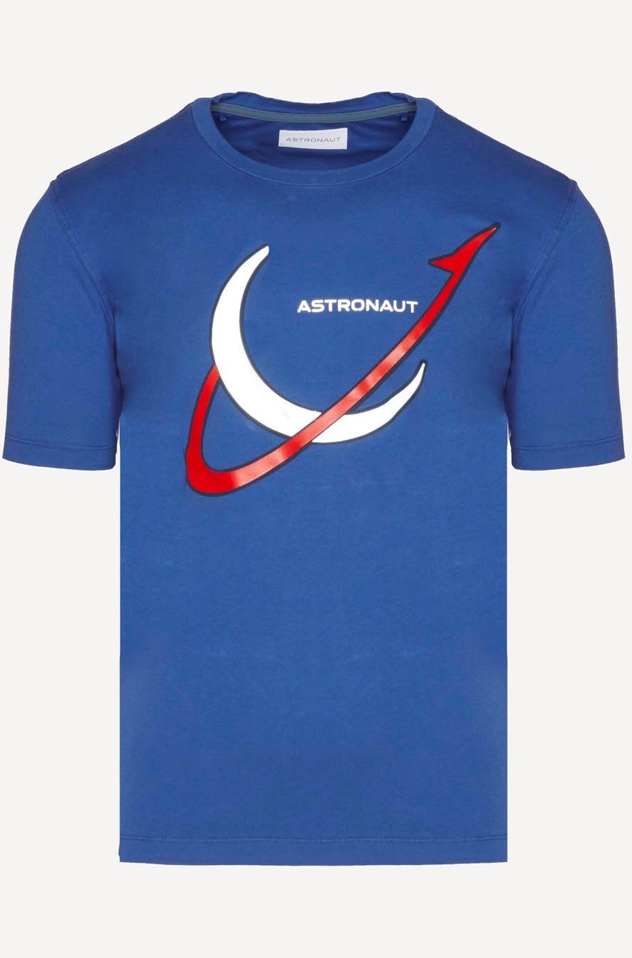 Astronaut T-shirt with reflective logo