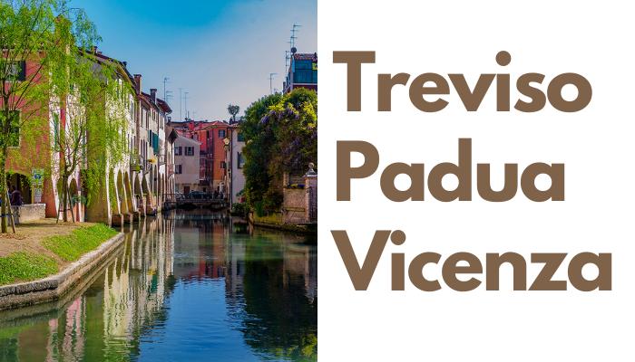 Treviso Padua Vicenza Stadtführungen