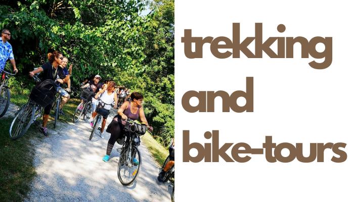 trekking and bike tours close to Treviso, Padua and Vicenza