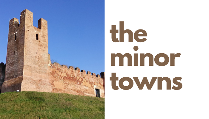 the minor towns close to treviso and venice