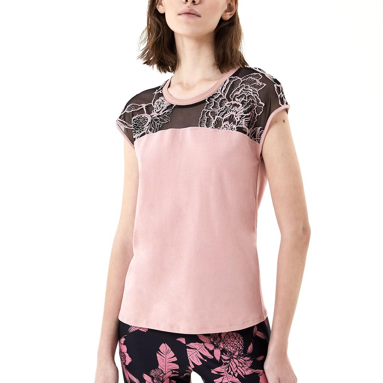 T-Shirt con tulle - LIU JO