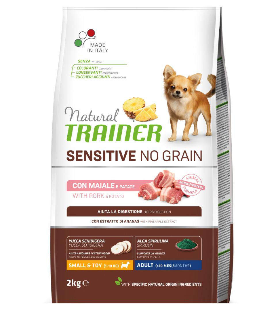 Trainer Natural Sensitive - No Grain - Small&Toy - Adult - 2 kg