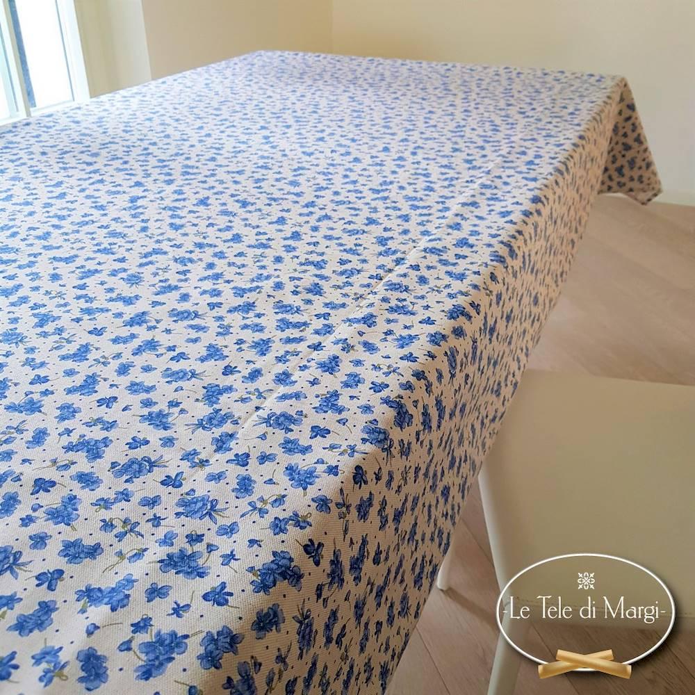 Tovaglia Violette blu 140 x 240