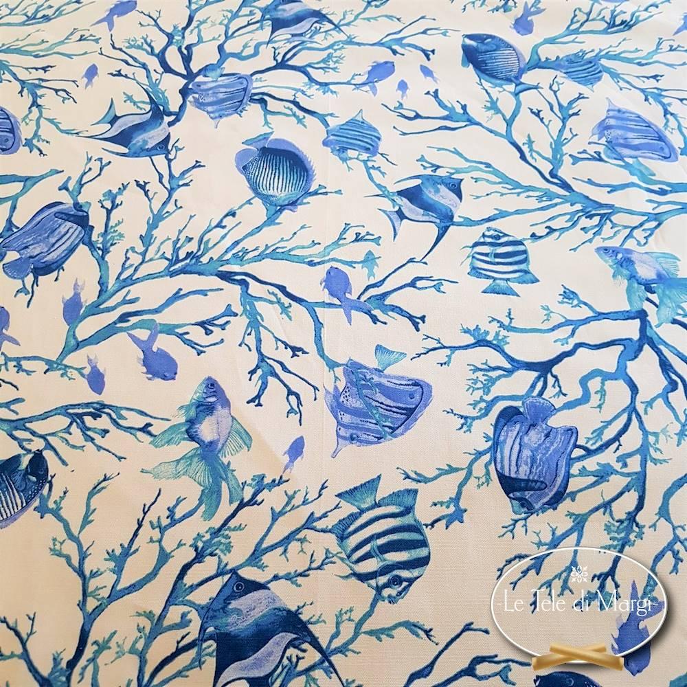 Tovaglia Caraibi blu 140 x 240