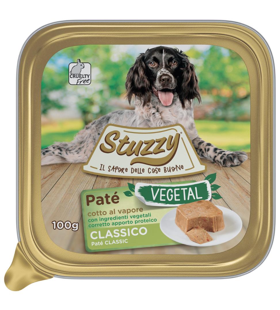 Stuzzy Dog - Vegetal - Adult - 100g x 6 vaschette