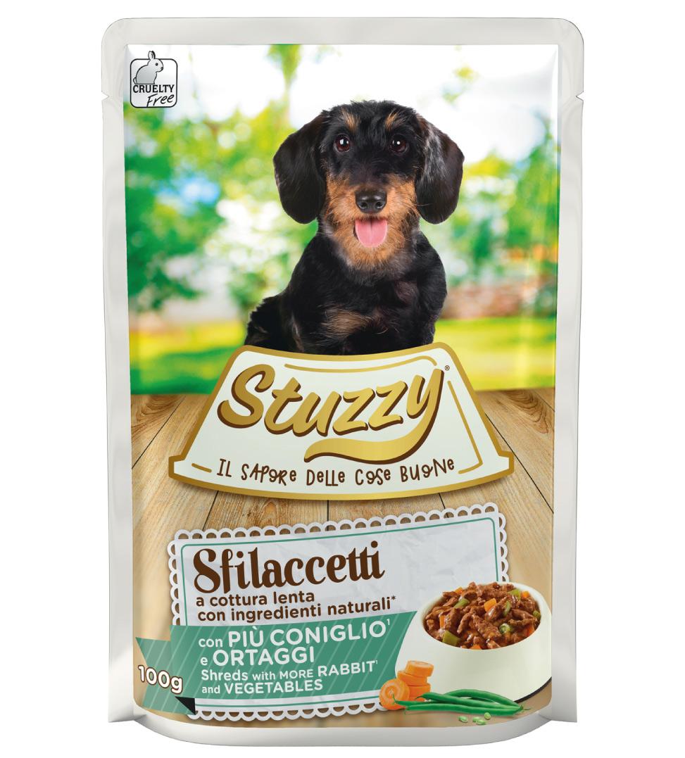 Stuzzy Dog - Sfilaccetti - Adult - 85g x 24 buste