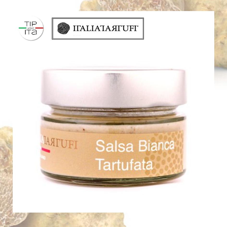Salsa Bianca Tartufata - Tartufo Bianco e Bianchetto - 45/90/190g