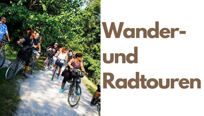 Radtouren und Wanderungen in Treviso, Padua und Vicenza