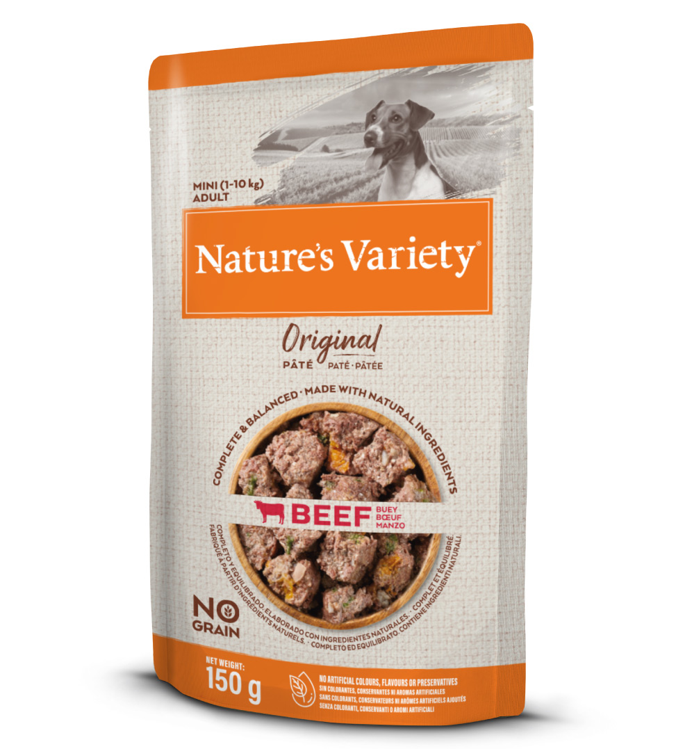 Nature's Variety - Original Dog - No Grain - Mini - Adult - 150 g x 6 bustine