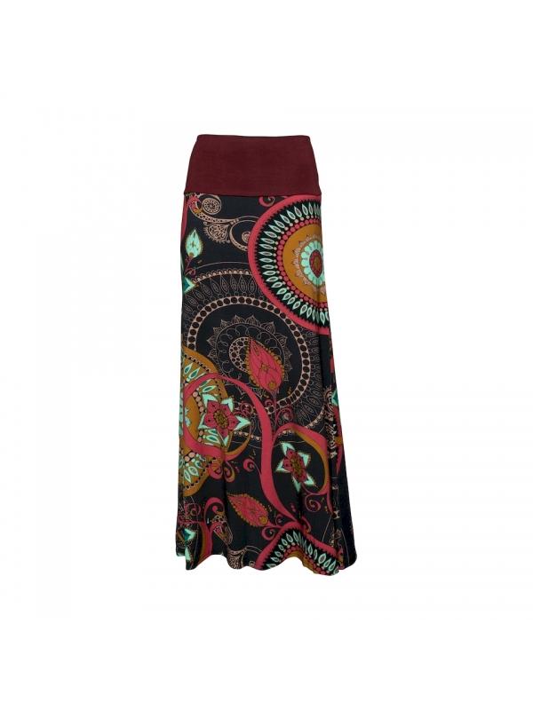 Long winter skirt