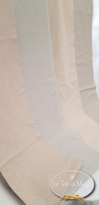 Telo Granfoulard copritutto Tinta unita beige 160 x 280