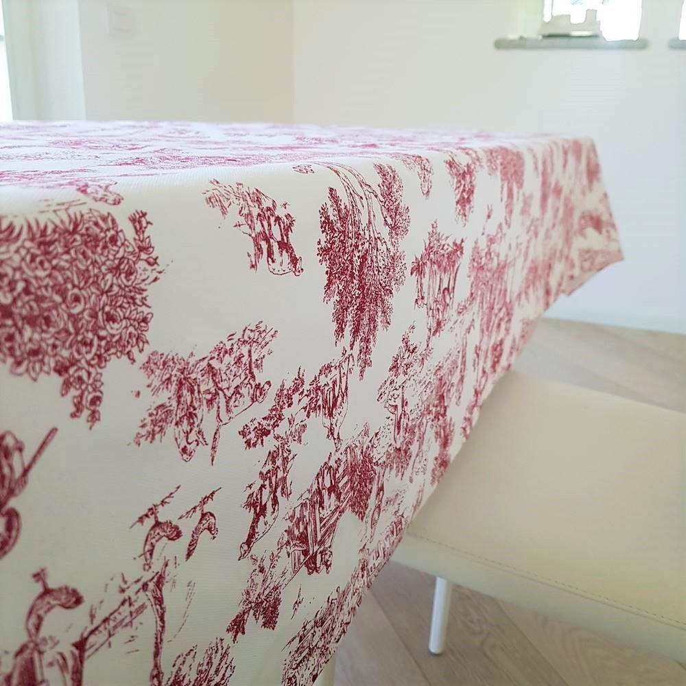 Tovaglia toile de joie rosso 140 x 360